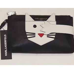 Karl Lagerfeld 😿Paris Cute Choupette Cat Wristlet